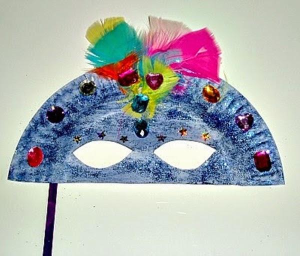 Máscaras divertidas para o carnaval