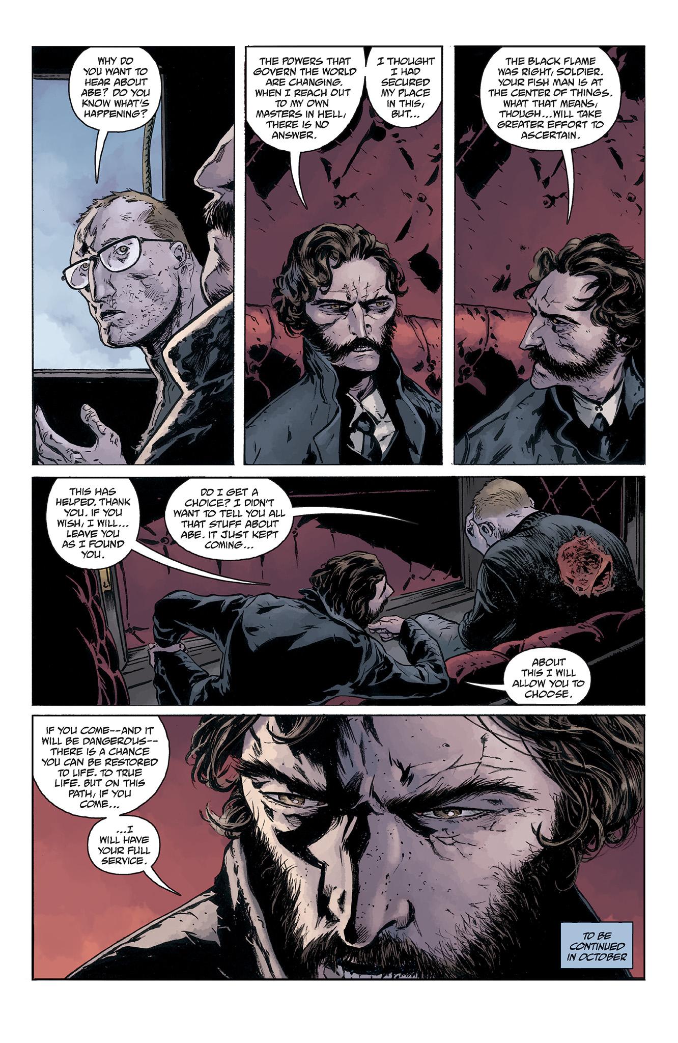 Read online Abe Sapien comic -  Issue #5 - 24