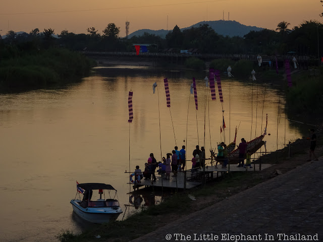 Loy Kratong 2017 in Nan - Thailand