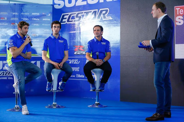 Team Suzuki Ecstar 2017 Di Lancarkan Di Sepang Malaysia