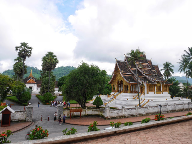 the royal palace and haw phra bang temple, laos