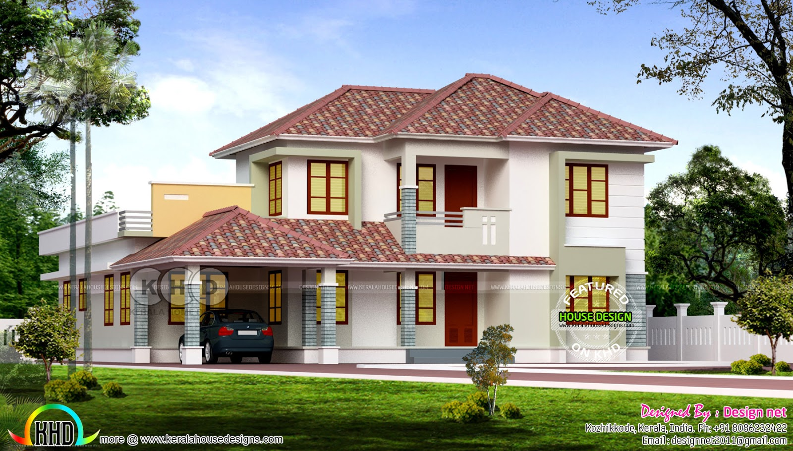 beautiful 4 bedroom sloping roof home 2750 square feet