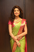 pranitha glam pics in saree-thumbnail-18