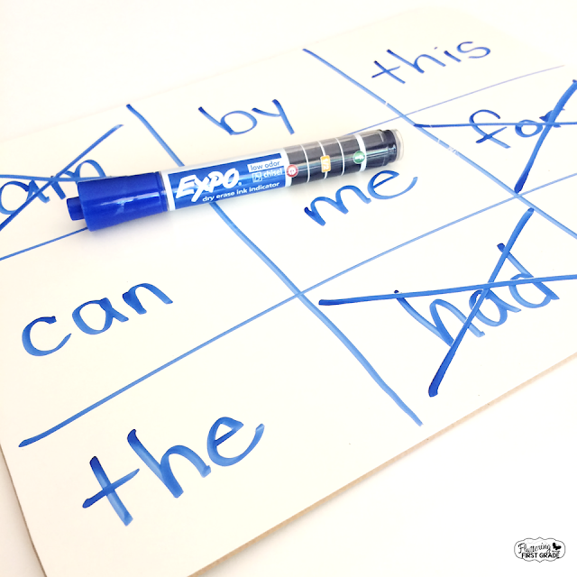 Dry Erase Activities for the Classroom