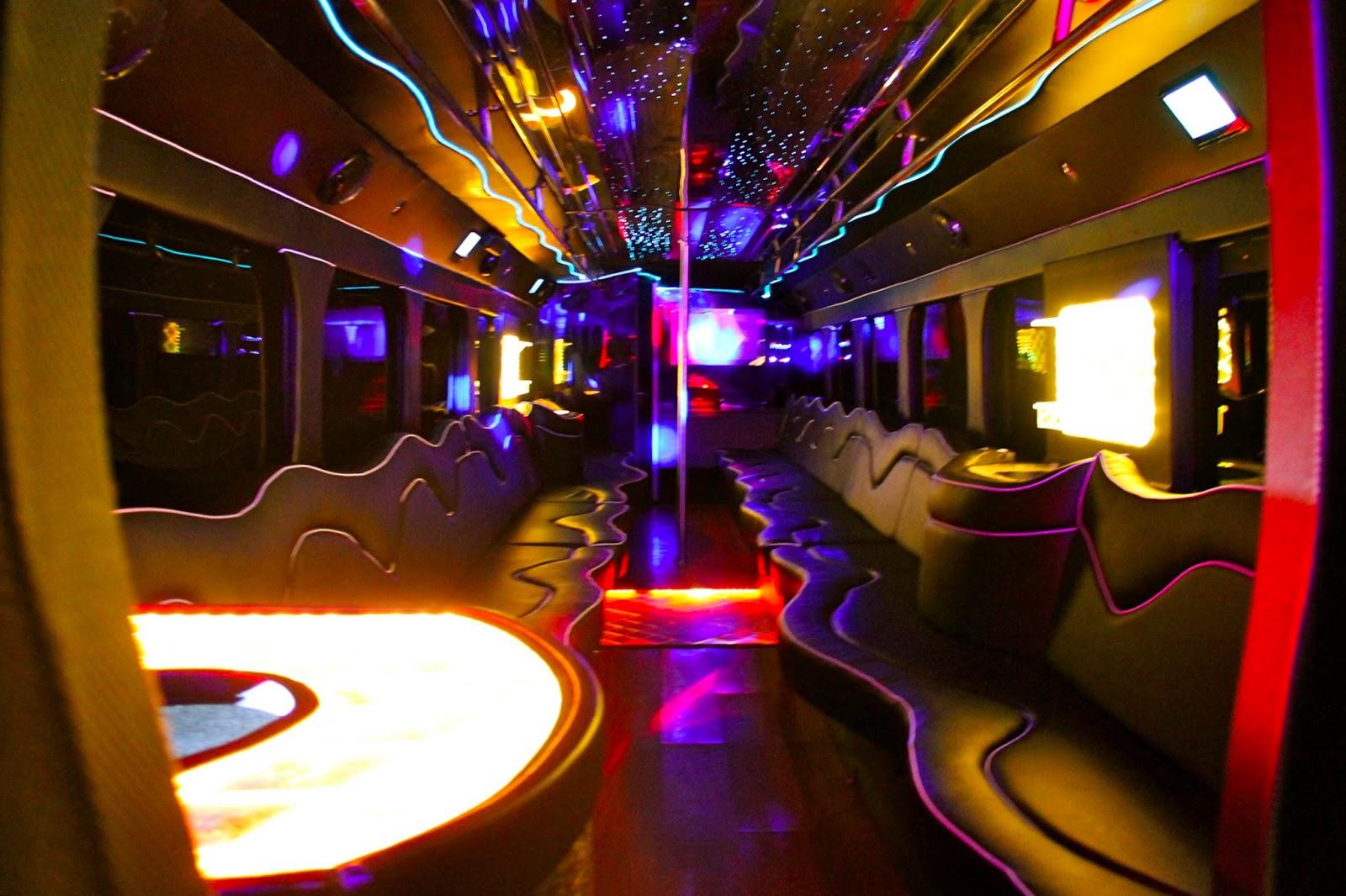 50 Passenger Party Bus Mci Limo Bus Krystal Limousine