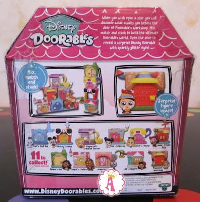 Коробка с Пиноккио из Disney Doorables