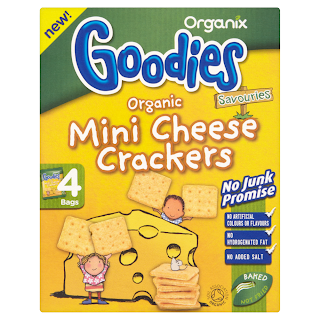 REVIEW: Organix Goodies – Mini Cheese Crackers