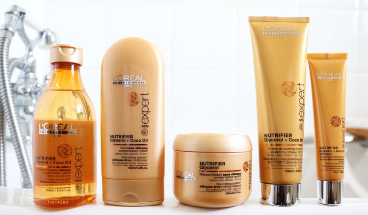 Haircare Review: L'Oreal Professional Série Expert Nutrifier range for Dry Hair