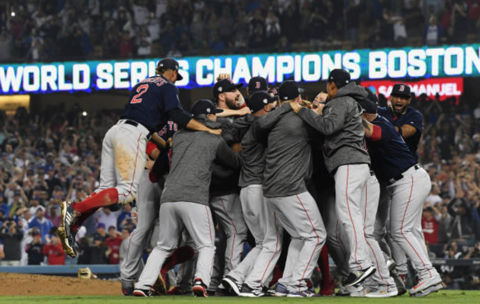 1a2b24542 Red Sox Capture Ninth World Series Title With Win Number 119