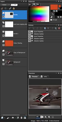 Paintshop X4 Ultimate Layer