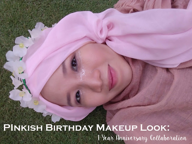 Tutorial Makeup Ultah natural pink