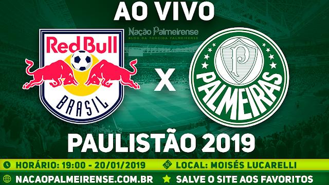 Assistir RB Brasil x Palmeiras Ao Vivo