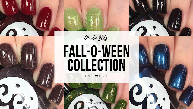 Chaotic Glitz Fall-o-ween Collection