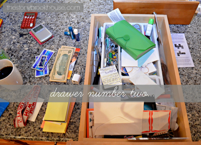 Messy Drawer Gets Organized