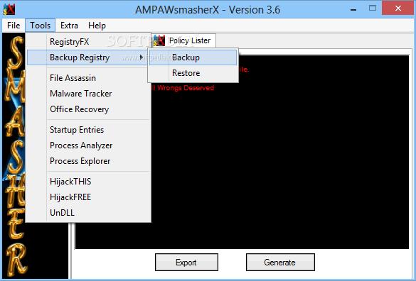 Menghapus Virus Autorun menggunakan AMPAWsmasherX