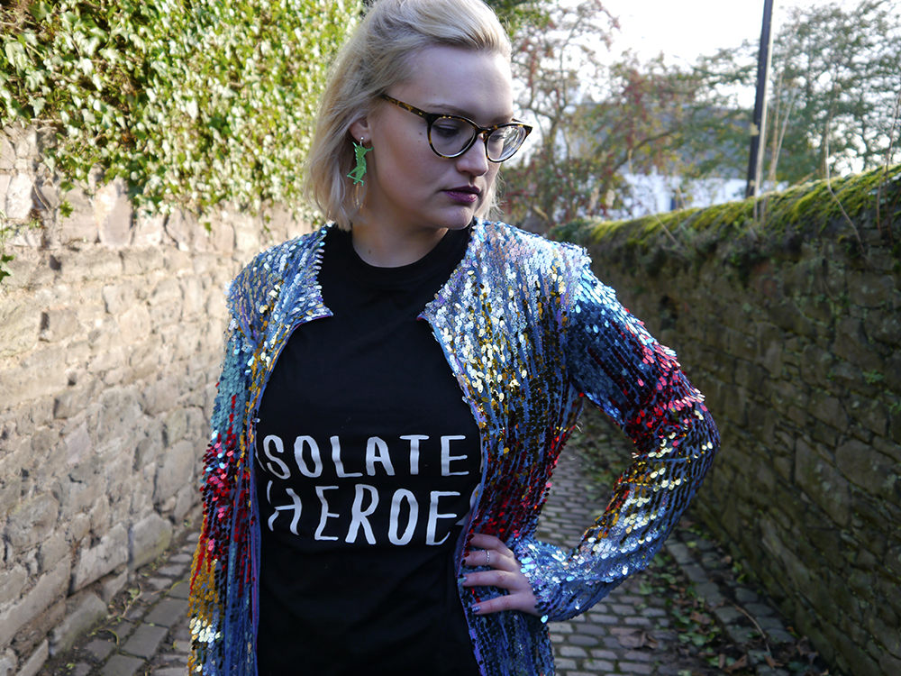 Kimberley Grahame from Wardrobe Conversations style blog wearing cult dundee designer isolated heroes