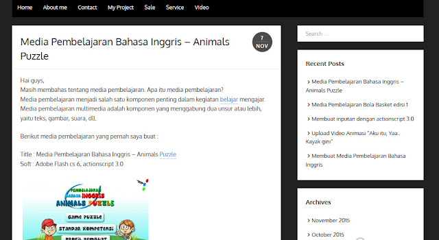jasa pembuatan animasi, game, website flash, media interaktif