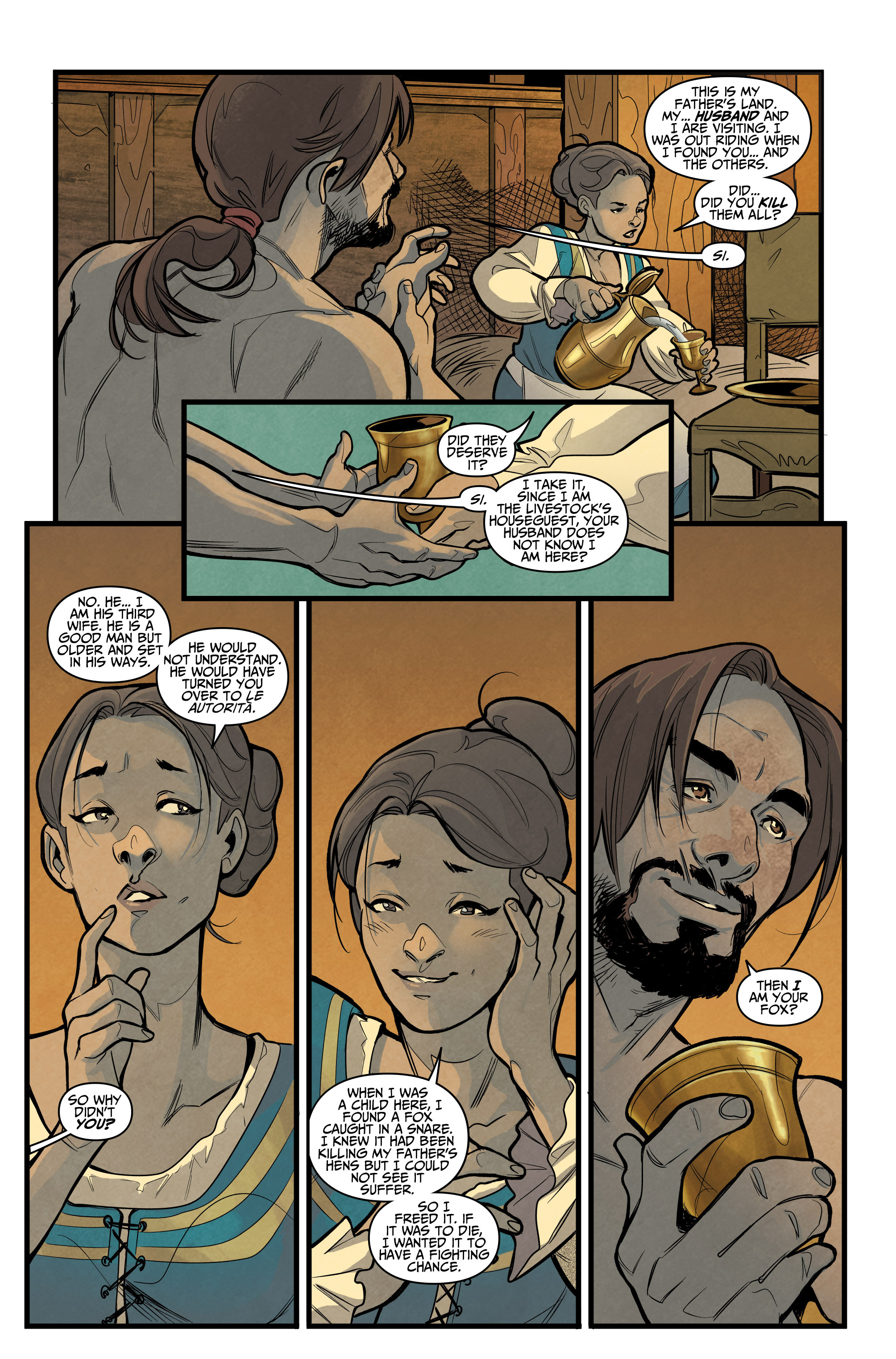 Read online Assassin's Creed: Reflections comic -  Issue #1 - 14