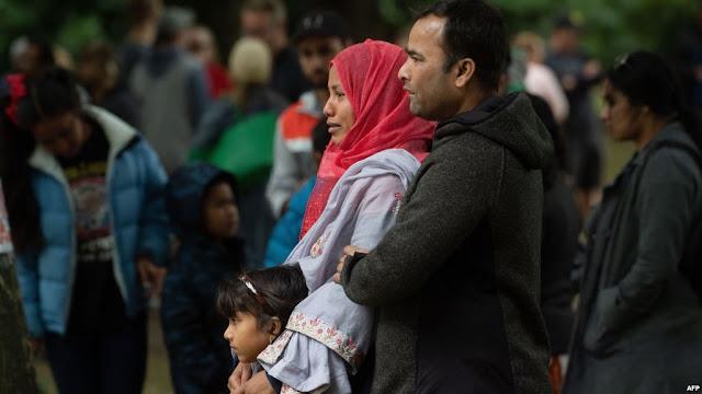 Muslimah New Zealand Tolak Sumbangan Cina