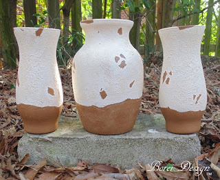 Tutorial on how to create your own tuscan style urns from dollar store glass.