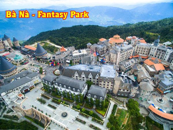 khu vui chơi Bà Nà Fantasy Park Đà Nẵng