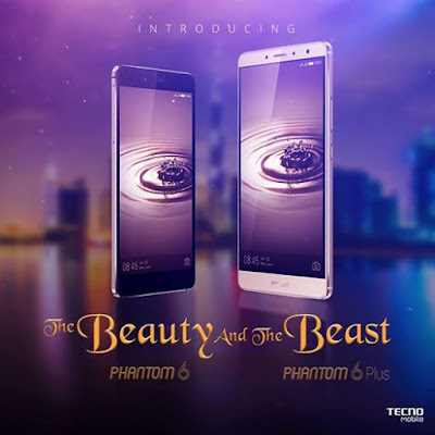 TECNO Phantom 6 vs Phantom 6 Plus difference and similarities