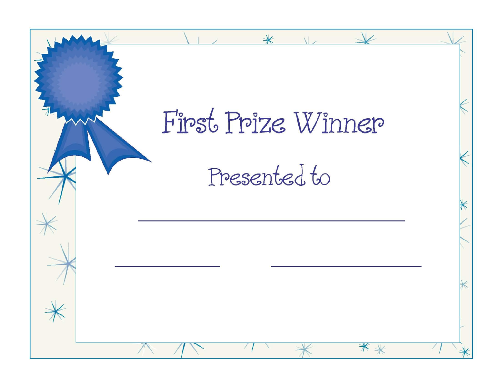 Winner award certificate template free download d templates winner award certificate template xflitez Choice Image