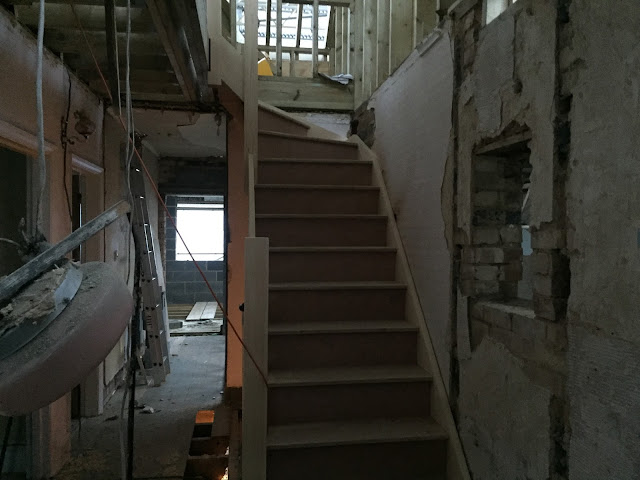 New staircase in house