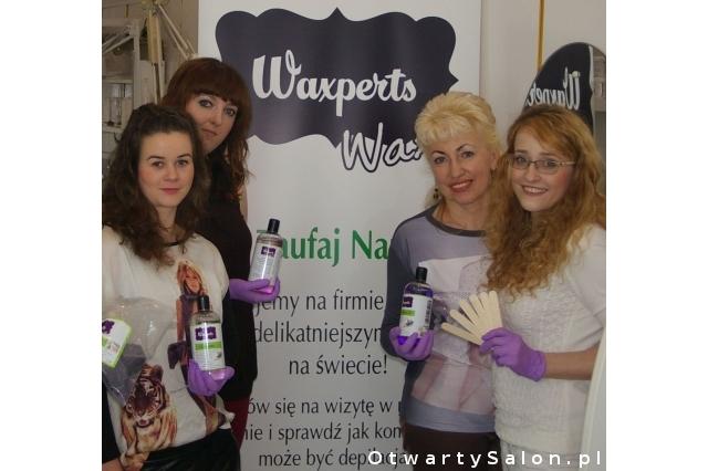 prezentacja produktów do łatwej depilacji Waxperts
