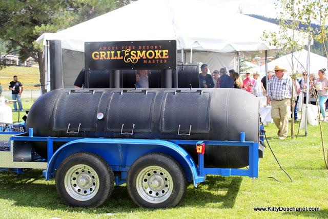 Grill smoke master