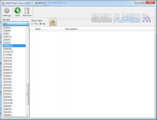 Asus Flash Tool 1.0.0.71