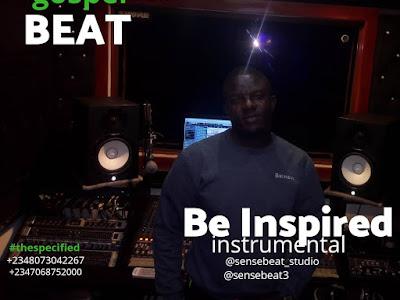 FREE BEAT: SENSE BEAT - BE INSPIRED GOSPEL INSTRUMENTAL | @Sensebeat3