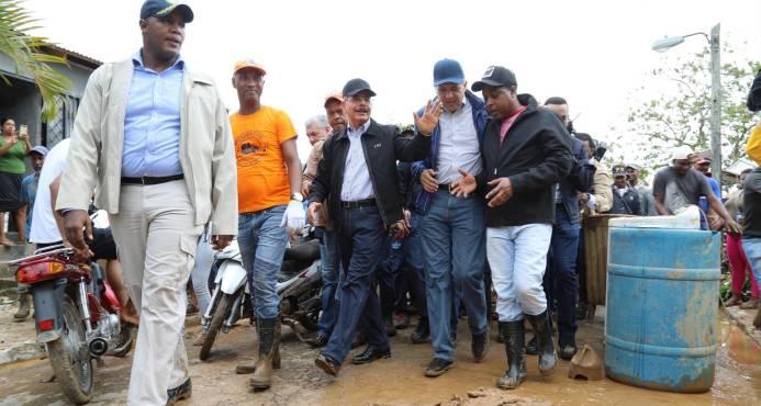Gobierno volverá hoy con ayuda a zonas afectadas por María