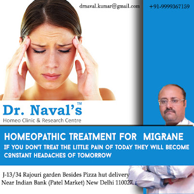 Homeopahtic Treatment For Migraine