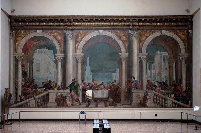 Obra Cena a casa di Levi na Accademia