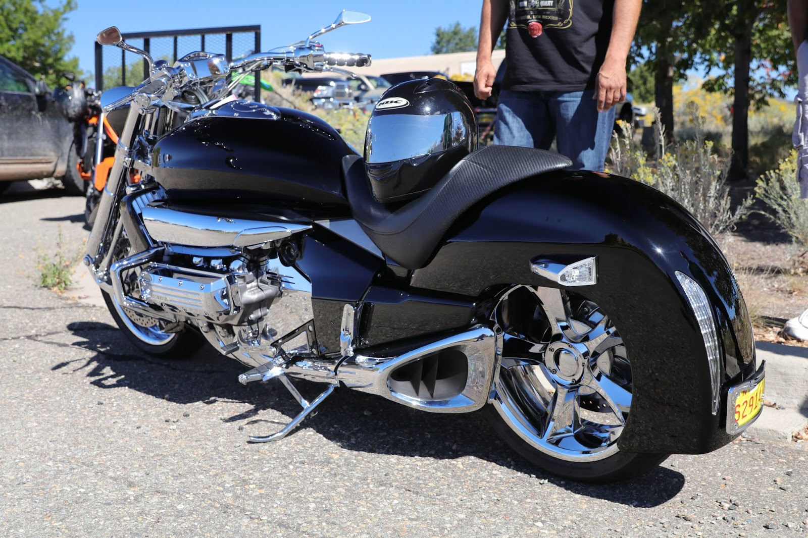 oldmotodude honda rune  sale      motorado classic motorcycle show