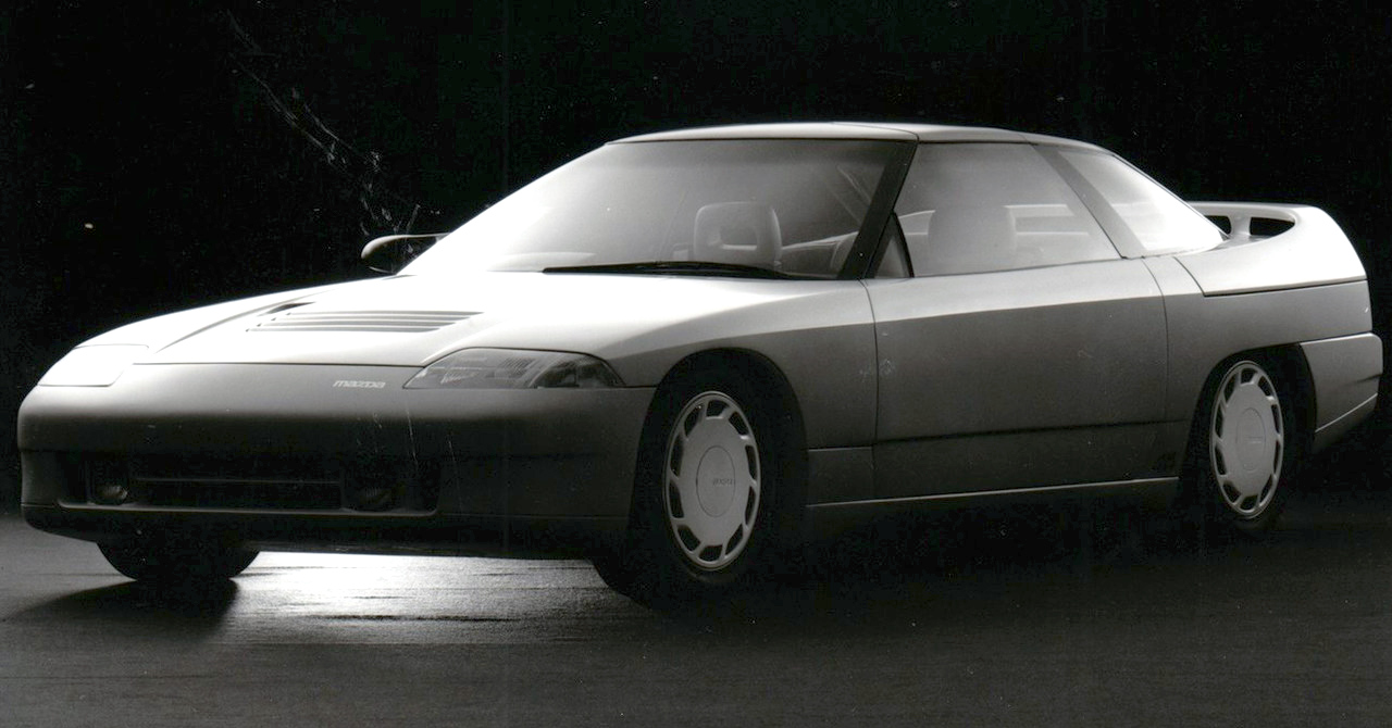 The NSX had a sister - The Forgotten 1985 Mazda MX-03