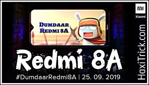 Redmi 8a Price Feature Launch Date in India Hindi 2019