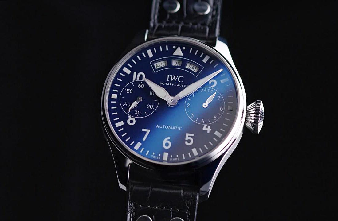 iwc big pilot s watch annual calendar edition 150 years time