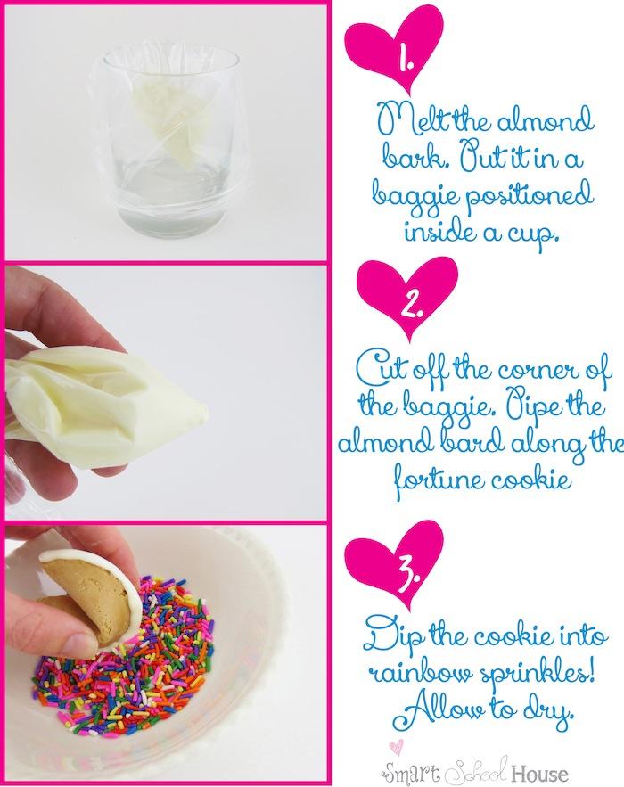 DIY Sprinkle Fortune Cookies