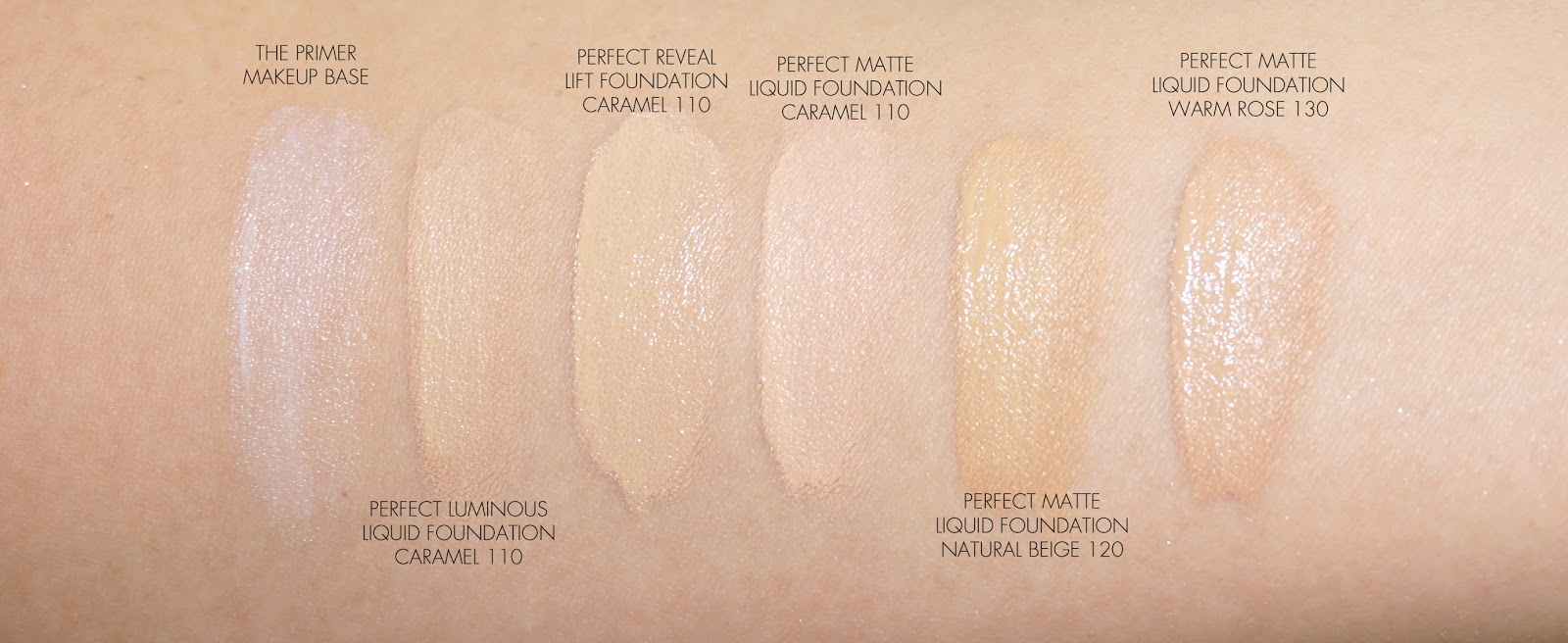 5b5353aa3b1 A few comparison swatches to other foundations I have in rotation for  reference