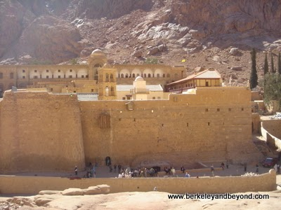 St. Catherine's Monastery, exterior, Egypt