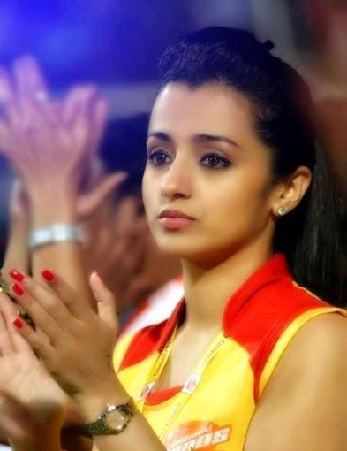 Trisha Sexy Pictures In the CCL match