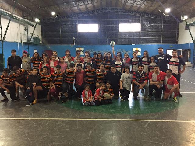 Exitosa clínica de Proba Rugby en Tolhuin