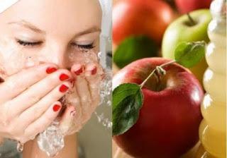 خلطات طبيعيه من التفاح لبشره نضره