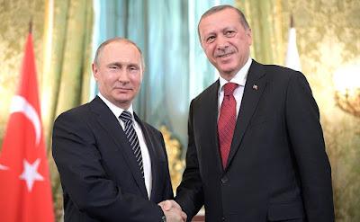 President Putin, Recep Tayyip Erdogan.