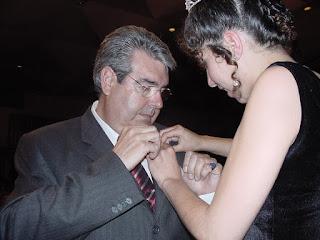 e8ee899b946e4 Imposición del cardo de Plata a Miguel Angel Ivars asesor de Ayuntamiento  de Dénia.