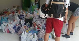 37χρονος πιάστηκε να κλέβει τρόφιμα από τους πυρόπληκτους