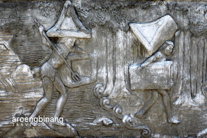 relief taman purbakala waruga sawangan minahasa