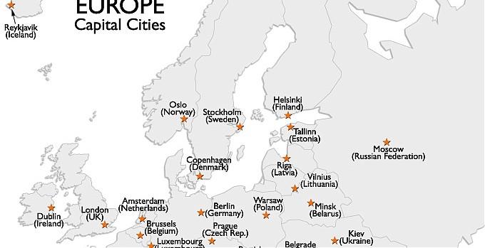 Avrupa Ülkeleri ve Başkentleri
